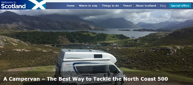 The best way to tackle the North Coast 500 - A Campervan!